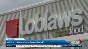 Will the Loblaw gift card payoff work?