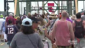 Hundreds take part in Halifax's annual Bridge Walk
