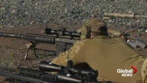 Snipers from around the world compete in New Brunswick