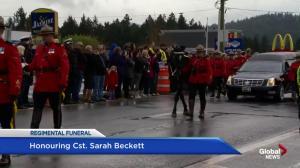Honouring Cst. Sarah Beckett