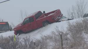 Snow cause for numerous crashes on Okanagan roads
