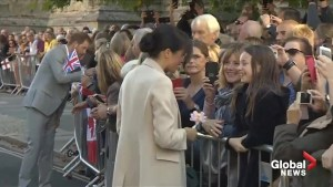 Prince Harry and Meghan Markle visit Sussex