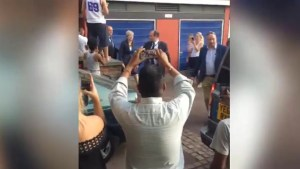Theresa May heckled after meeting Grenfell Tower residents