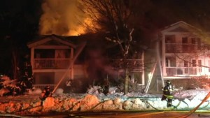Kelowna Townhouse fire