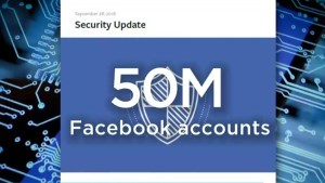 Facebook security breach affects 50 million users