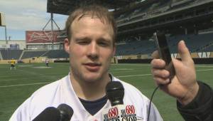 Blue Bombers Receiver Ryan Smith Interview
