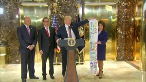 Trump calls infrastructure permitting process 'self-inflicted wound' to U.S. economy