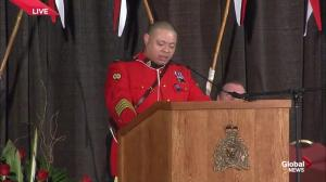 Colleague honours Cst. Sarah Beckett