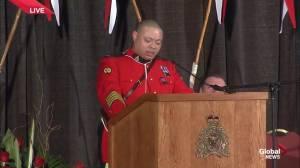 Colleague honours Cst. Sarah Beckett