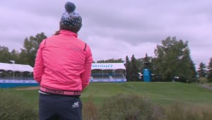 Brooke Henderson celebrates historic victory with a visit to Calgary for Shaw Charity Classic event