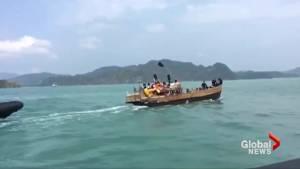 Malaysia intercepts boat carrying Rohingya refugees