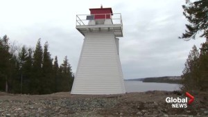 Saint John lighthouse rebuilt less than a year after being destroyed by fire