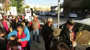 Okanagan residents take to streets for missing and murdered Aboriginal women
