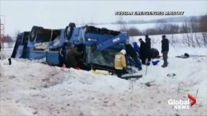 7 killed including 4 children, 32 injured after bus crashes on Moscow road
