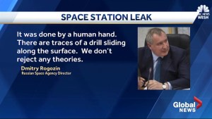 Russia alleges oxygen leak on ISS was deliberate sabotage