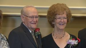Calgary couple celebrate 70th wedding anniversary