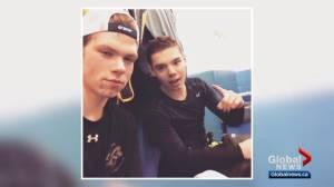 Alberta hockey community grieves loss of Parker Tobin, Stony Plain teen killed in Humboldt Broncos bus crash (02:26)