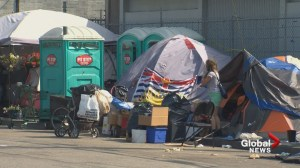 Tent city ready to pack up in Surrey