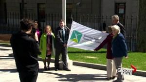 Flag-raising ceremony held in Halifax for Mental Health Week