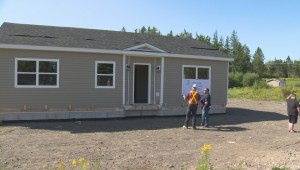 Habitat for Humanity family gets first look at new St. George, N.B. home