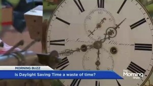 Is Daylight Saving Time a waste of time?