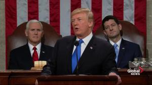 State of the Union: Trump touts 'massive' tax cuts