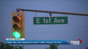11 blocks of East 1st Avenue to be closed for 10 weeks this summer