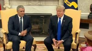 President Trump praises Juan Guaidó, calls him 'brave'