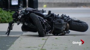 Scenes from deadly Deadpool 2 motorcycle crash