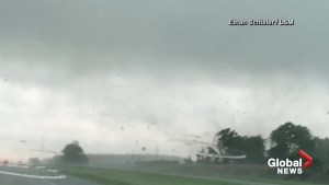 Powerful tornado caught on video in Missouri