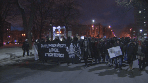 Vandalism brings quick end to Montreal anti-police brutality march