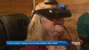 Virtual reality helping people struggling with alcohol stay sober