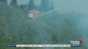 Fires break out in Edmonton's river valley amid hot, dry conditions
