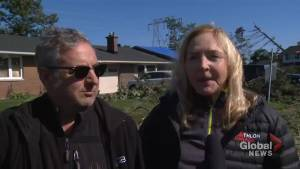 Nepean residents start to clean-up post-tornado