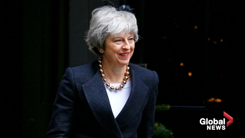 UK leader May: Brexit critics risk damaging UK democracy