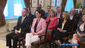 Alberta premier makes cabinet changes