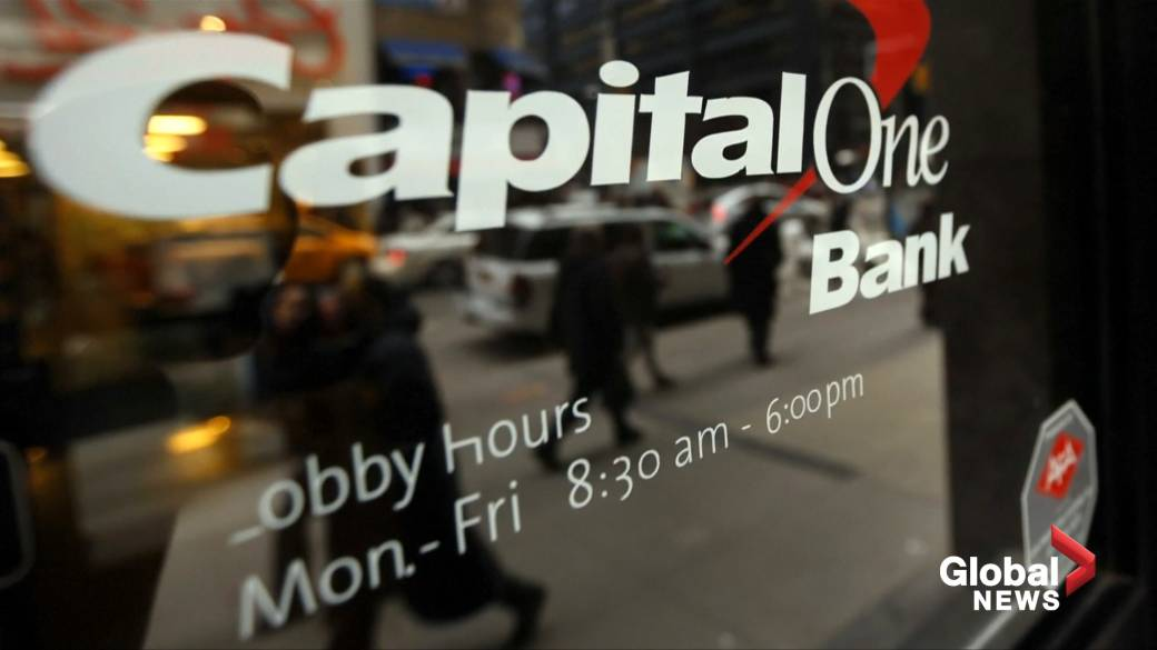 Capital One data breach hits about 6 million people in Canada, 100 million in U.S.