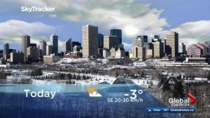 Edmonton early morning weather forecast: Thursday, March 8, 2018