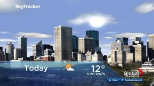 Edmonton early morning weather forecast: Thursday, April 19, 2018