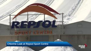 Chlorine leak at Calgary's Repsol Centre