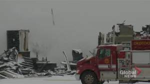 Home near Okotoks destroyed by fire