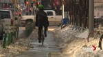 Calgary sees big increase in number of winter cyclists