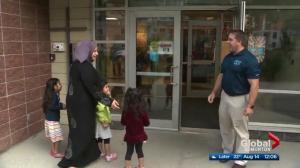 Edmonton year-round students return to class