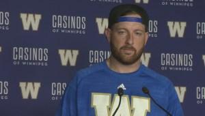 RAW: Blue Bombers Matt Nichols – Sept. 8