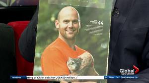 Edmonton Valley Zoo: Mochi the bush hyrax featured in Edmonton Oilers calendar