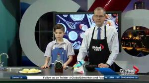 12-year-old Food Network Competitor Bakes Donuts