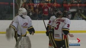 Alberta girl's midget hockey Elite Championship Final