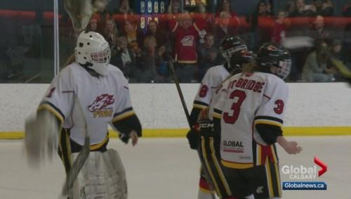 Agree, Alberta female major midget hockey