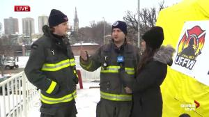 First-time rooftop camp out firefighters raise awareness for MD