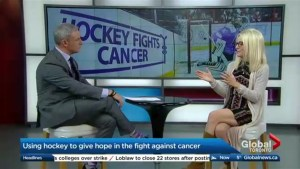 Using hockey to give hope in the fight against cancer